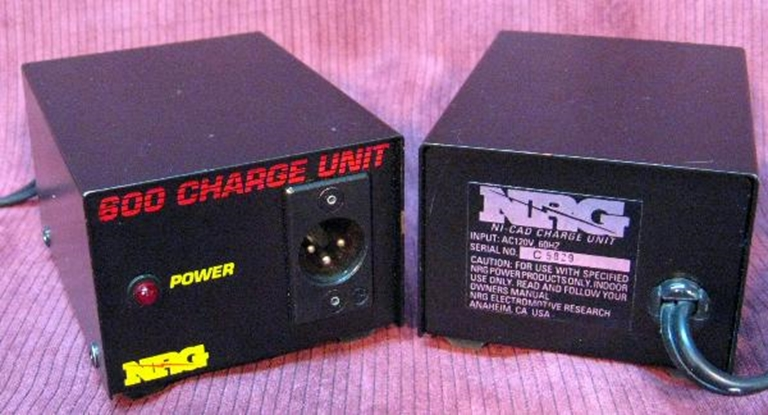 Picture of NRG Model 600 Ni-Cad Battery Charger