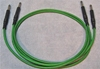 """Image de ADC 3', 1/4"""" Nickel, Green TRS Longframe Patch Cable"""
