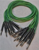 "Picture of ADC 4', 1/4"" Nickel, Green TRS Longframe Patch Cable"