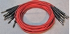 """Image de ADC 4', 1/4"""" Nickel, Red TRS Longframe Patch Cable"""