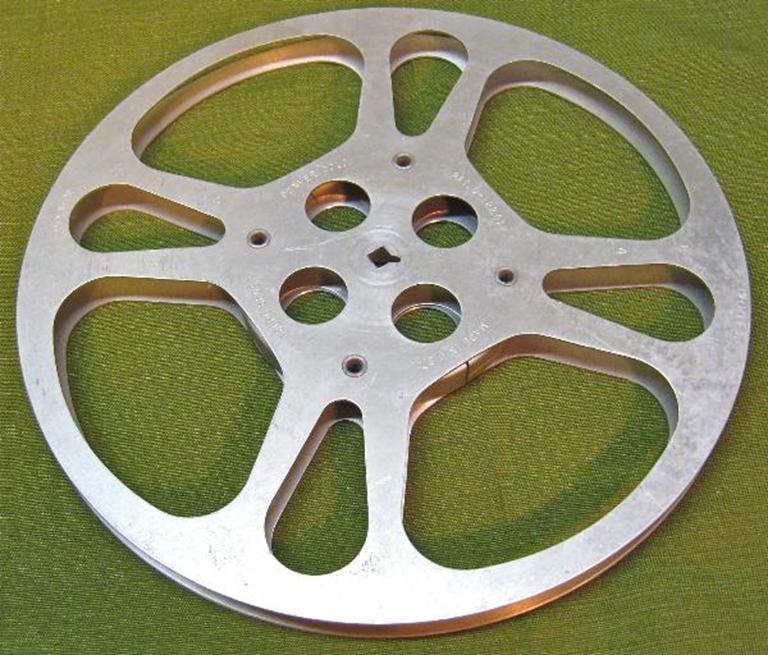 Picture of 16 MM film Reels 1200' Aluminum