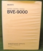 Picture of Sony BVE-9000 Maintenance Manual 1st Edition (Revised 8)