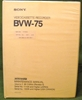 Image de Sony BVW-75 Maintenance Manual Volume 2 6th Edition (Revised 5)