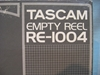 "Picture of Tascam 10""x.25"" Reel,RE-1004, Boxed USED"