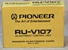 Picture of Pioneer RU-V107 Convergence remote