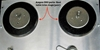 Picture of Ampex 350 Reel Table Trim rings (pair).